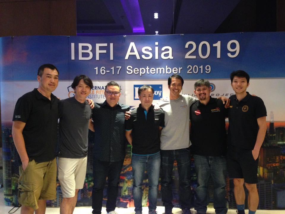 アジア地域のIBFI Level4の7人